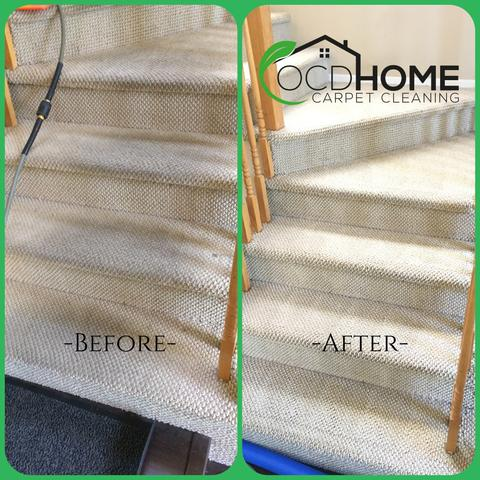Stairs Carpet Cleaning OC